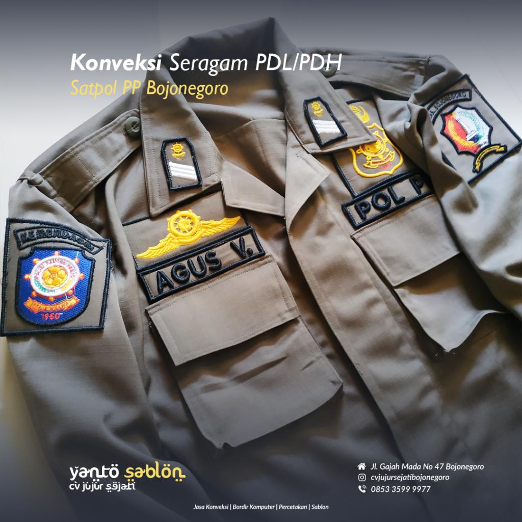Konveksi Seragam/PDL/Baju Bojonegoro