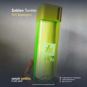 Sablon Tumbler/Gelas/Cup Bojonegoro