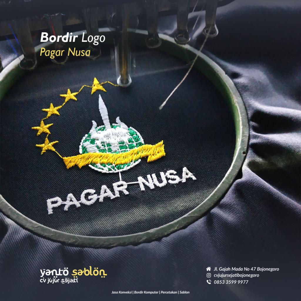 Bordir Badge Bojonegoro