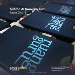 Sablon dan Konveksi Kaos Bojonegoro