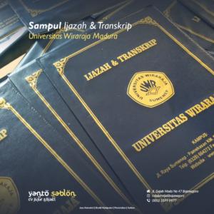 Buat Sampul Raport/Ijazah Bojonegoro/Lamongan/Babat/Tuban (Hot Print)