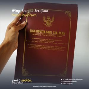 Sampul Sertifikat/Raport Bojonegoro