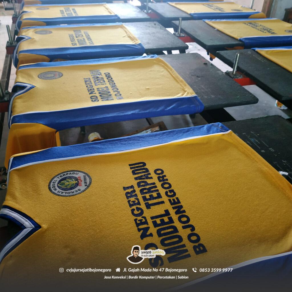 Konveksi Kaos Olahraga SD SMP SMA di Bojonegoro